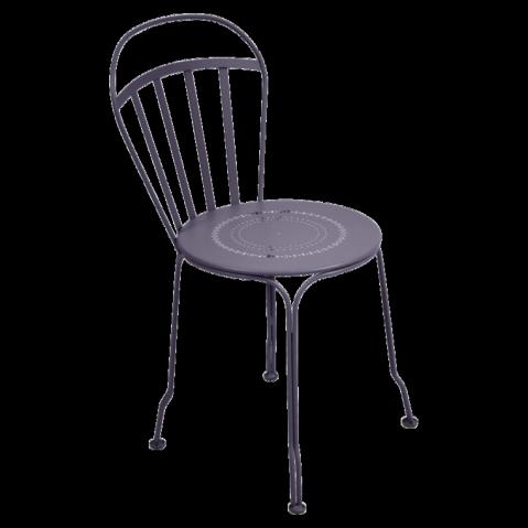 Chaise LOUVRE de Fermob,Prune