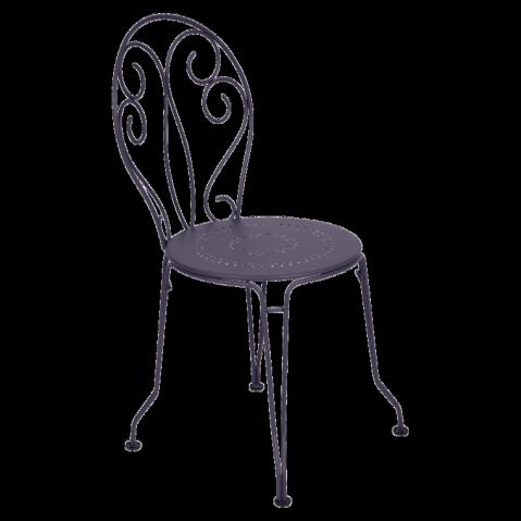 Chaise MONTMARTRE de Fermob, Prune