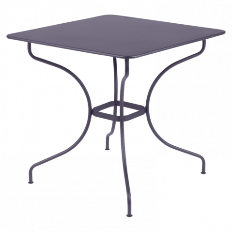 Table carrée OPÉRA de Fermob, Prune
