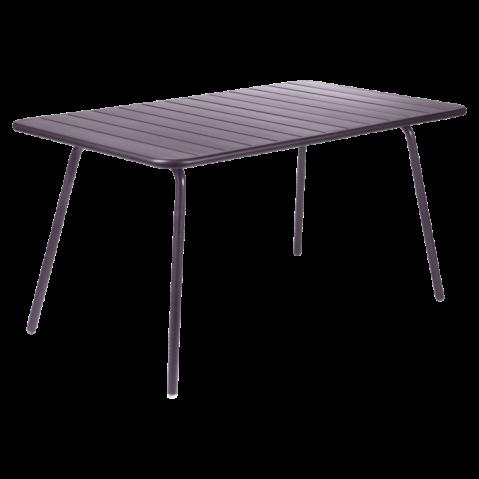 Table LUXEMBOURG  de Fermob, Prune