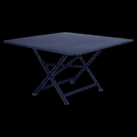 Table pliante CARGO de Fermob, Bleu abysse