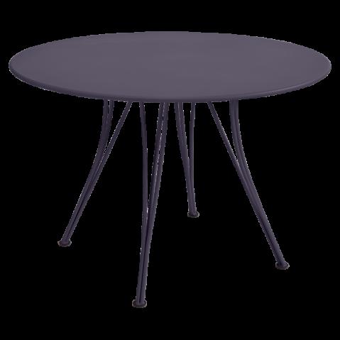 Table ronde RENDEZ-VOUS de Fermob, Prune