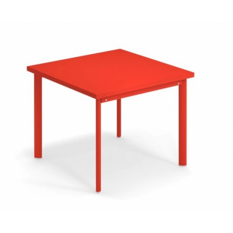 Table carrée 90x90 STAR de Emu, 8 coloris