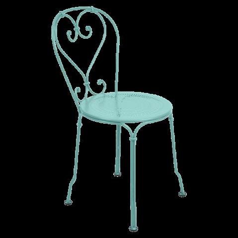 Chaise 1900 de Fermob Bleu lagune