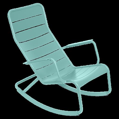 Rocking chair LUXEMBOURG de Fermob Bleu lagune