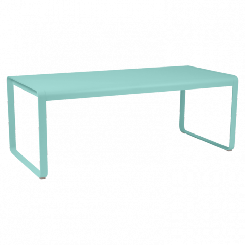 Table BELLEVIE de Fermob Bleu lagune