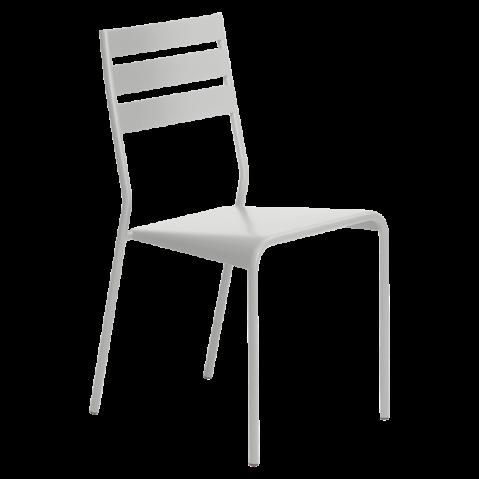 Chaise FACTO de Fermob gris métal