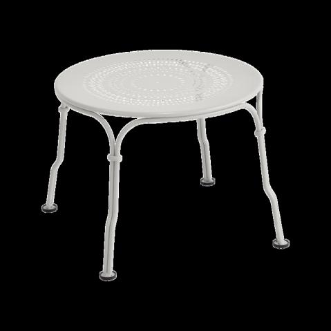 Table basse 1900 de Fermob, Gris métal
