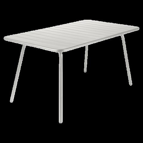 Table LUXEMBOURG de Fermob gris métal