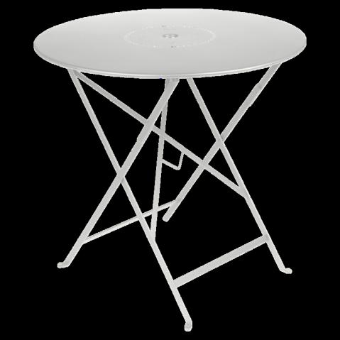 Table pliante FLORÉAL de Fermob D.77 gris métal