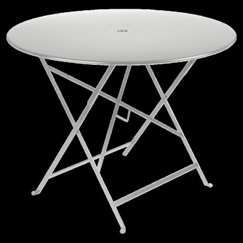 Table pliante FLORÉAL de Fermob D.96 gris métal
