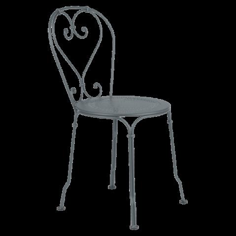 Chaise 1900 de Fermob gris orage