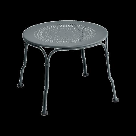 Table basse 1900 de Fermob, Gris orage
