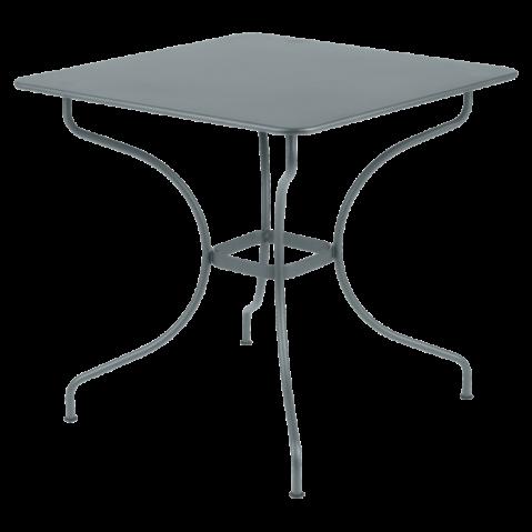 Table carrée OPÉRA de Fermob gris orage