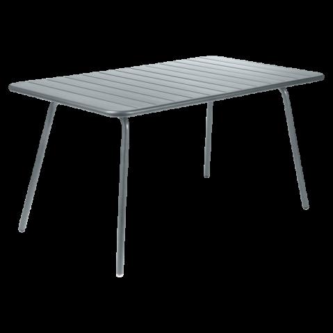 Table LUXEMBOURG de Fermob, Gris Orage