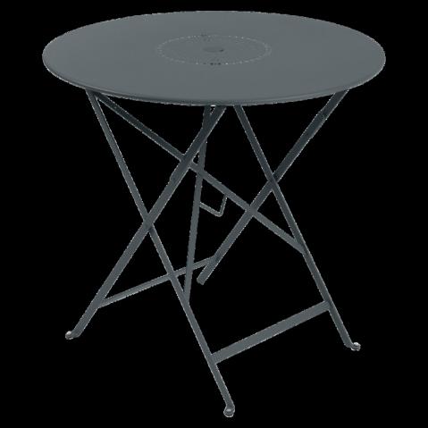 Table pliante FLORÉAL de Fermob D.77 gris orage