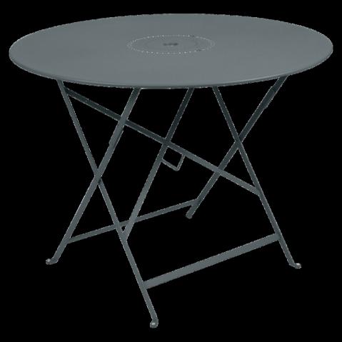 Table pliante FLORÉAL de Fermob D.96 gris orage