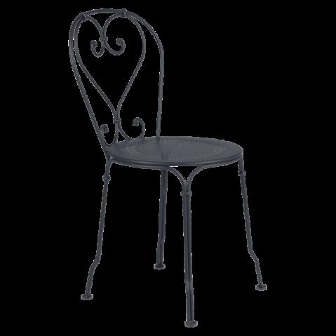 Chaise 1900 de Fermob Carbone