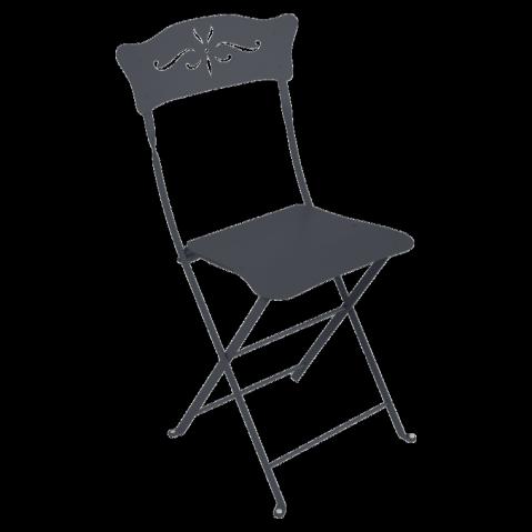 Chaise BAGATELLE de Fermob, Carbone