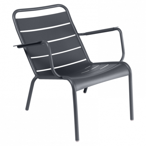 Lounger LUXEMBOURG de Fermob Carbone
