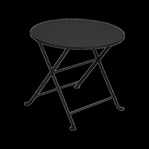 Table basse Enfant TOM POUCE de Fermob noir réglisse