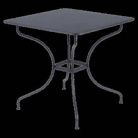 Table carrée OPÉRA de Fermob Carbone