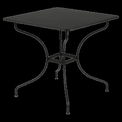 Table carrée OPÉRA de Fermob noir réglisse