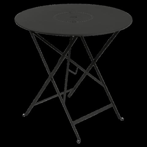 Table pliante FLORÉAL de Fermob D.77 réglisse