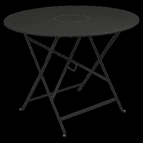 Table pliante FLORÉAL de Fermob D.96 réglisse