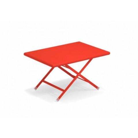 Basse Écarlate Table Emu Rouge Arc Ciel De En wXZPuTOik