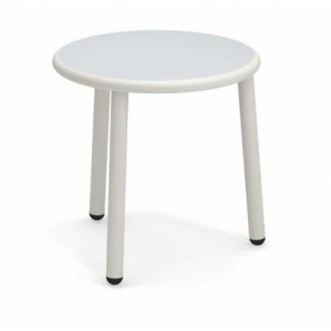 En Basse Mat 50 Inox Yard CmBlanc EmuØ Aluminium Table De Acier reoxCBdW