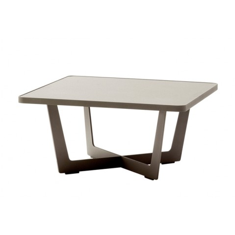 Table basse TIME OUT de Cane-line, petite, taupe