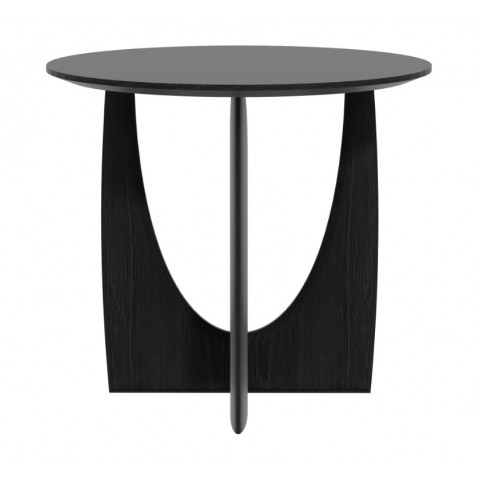 Table d'appoint GEOMETRIC d'Ethnicraft, Noir