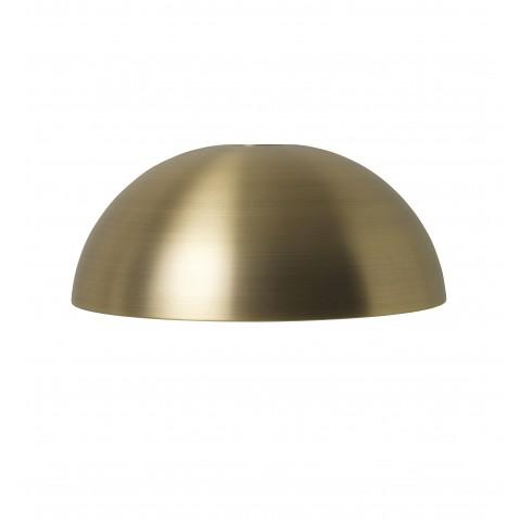 abat jour dome collect collection de ferm living laiton. Black Bedroom Furniture Sets. Home Design Ideas