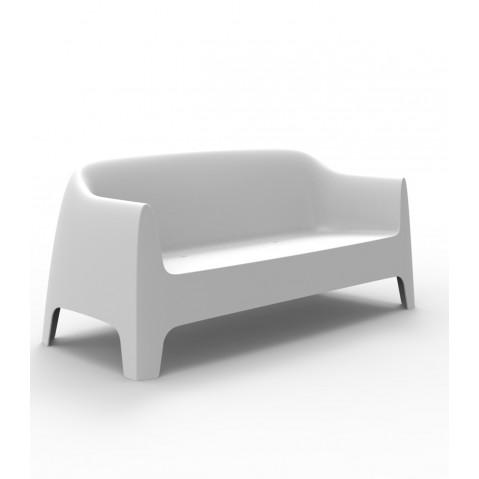 Canapé SOLID de Vondom, Blanc
