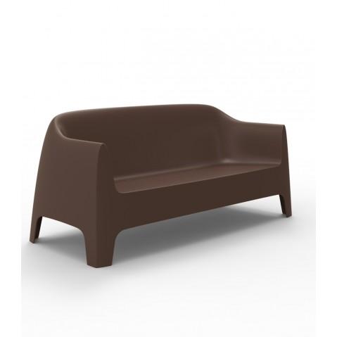 Canapé SOLID de Vondom, Bronze