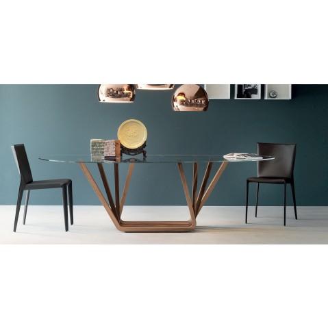 table domino de cattelan italia. Black Bedroom Furniture Sets. Home Design Ideas
