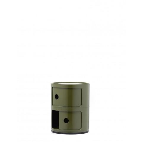Meuble de rangement COMPONIBILI de Kartell, Vert olive