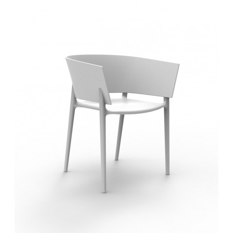 Chaise AFRICA de Vondom, Blanc