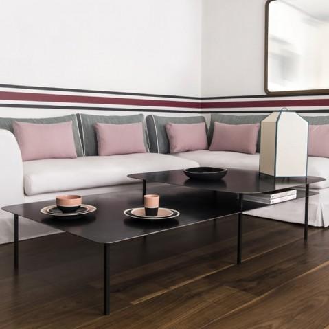 table basse tokyo plateau d cal en acier de sarah lavoine. Black Bedroom Furniture Sets. Home Design Ideas
