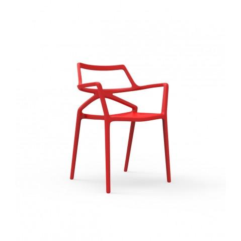 Chaise DELTA de Vondom, 7 coloris