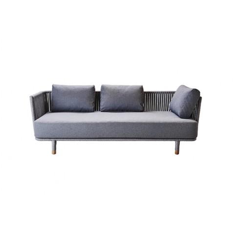 canap ext rieur moment de cane line. Black Bedroom Furniture Sets. Home Design Ideas