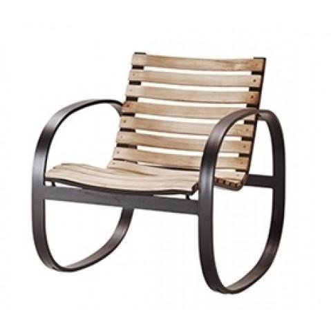Chaise longue à bascule PARC de Cane-line