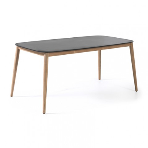 Table rectangulaire ENZO, Noir