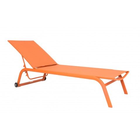 Chaise longue NINO, Orange