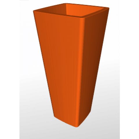 Qui est paul pot cache pot all so quiet orange for Pot exterieur xxl