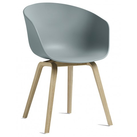 Fauteuil AAC 22 de Hay, Dusty blue