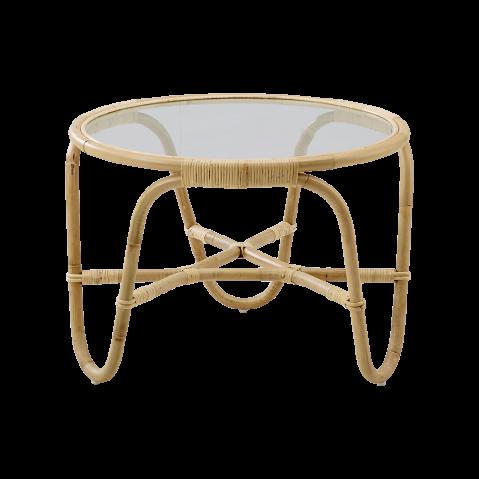 Table basse avec plateau en verre CHARLOTTENBORG , de Sika design
