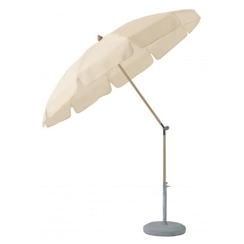 Parasol rond avec volant alexo de glatz, 2 tailles, 17 coloris