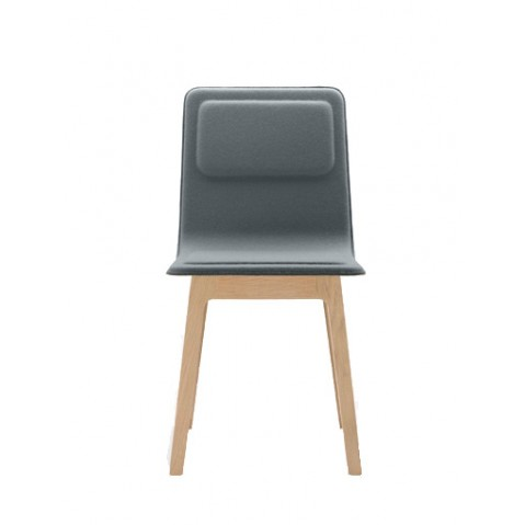 chaise laia de alki en fleutre et laine. Black Bedroom Furniture Sets. Home Design Ideas